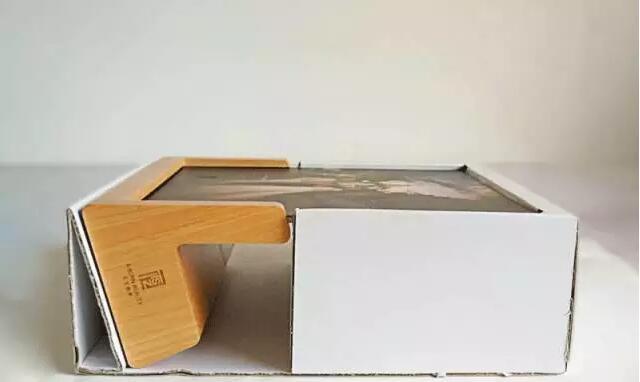 cardboard buffer for glass photo frame