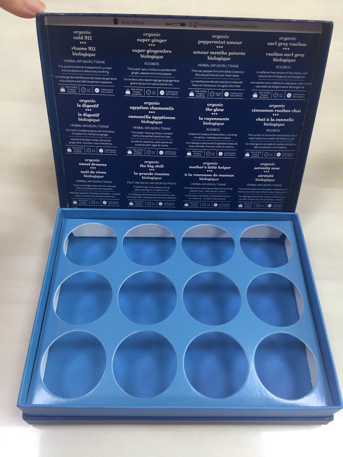 gift display box for tea